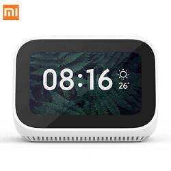 Xiaomi AI Touch Screen Smart Speaker Digital Display Alarm Clock WiFi Connect