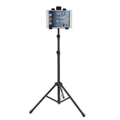 Tablet Floor Three Feet Mount Holder Adjustable Tripod Stand Bracket For iPad