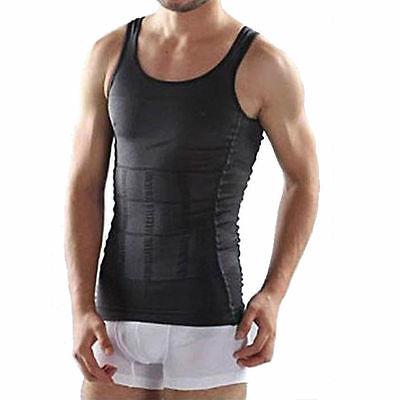 Bauch Weg Männer Herren Shapewear bodyshaping Shirt Unterhemd Körperformer