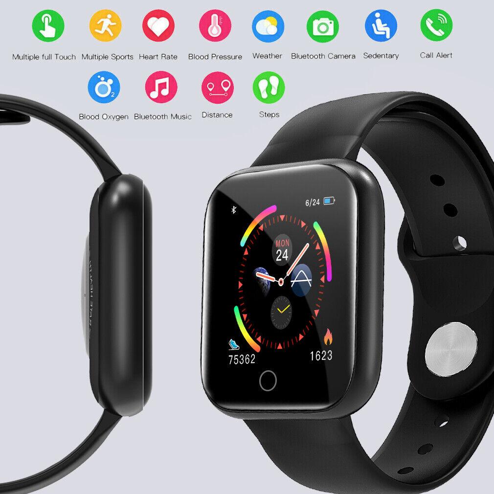 Smartwatch Männer Frauen Smart Armband Fitness Tracker ...