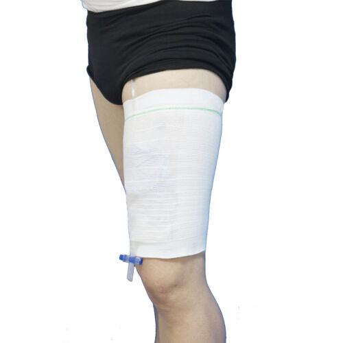 2PCS Sleeve Urine Catheter Bag Leg Holder For Incontinence ...