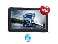 "7"" Noza Tec GPS Sat Nav navigation system, truck/car/lorry - EU-UK MAPS"