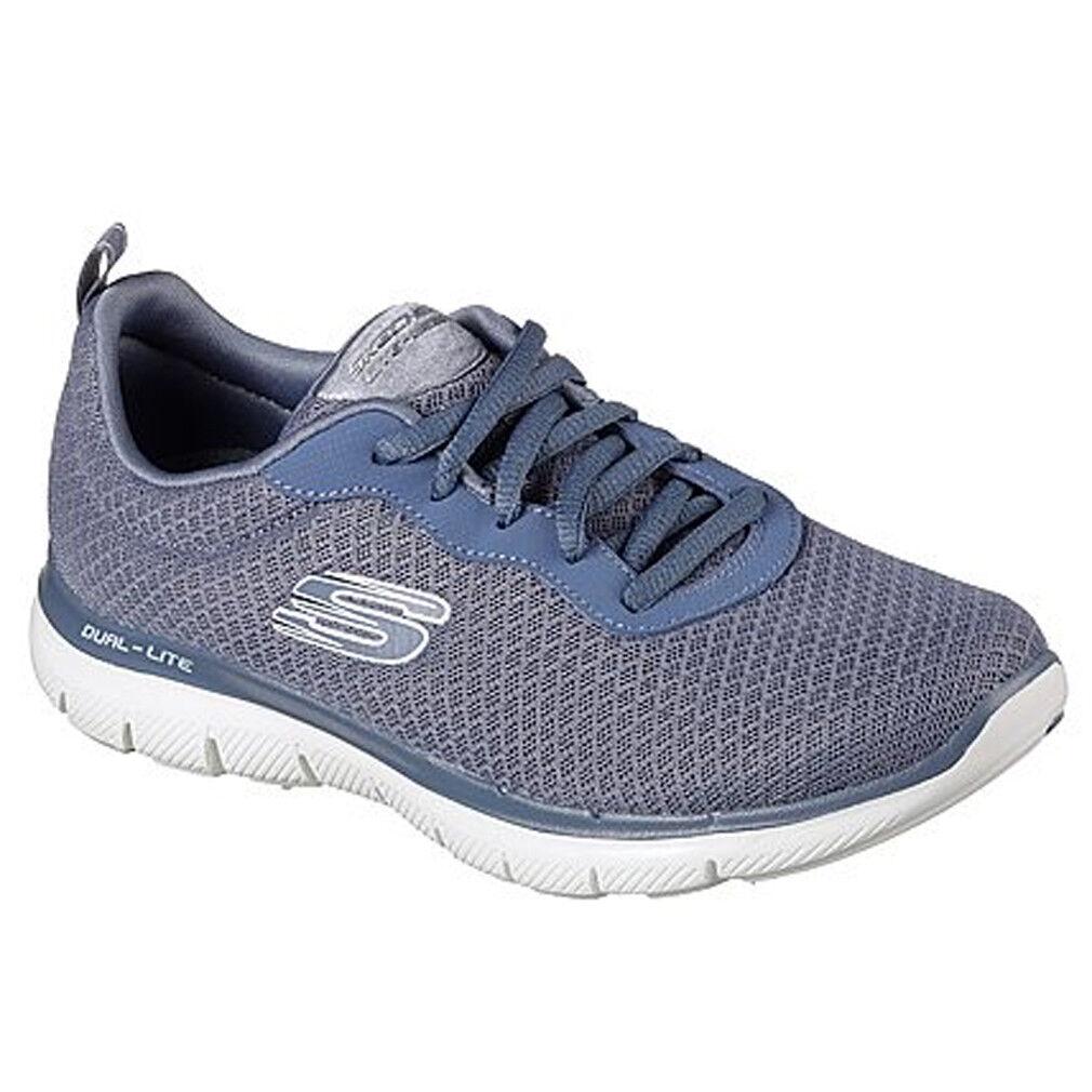 Design Skechers Flex Appeal 2.0 Blue Sneakers For Women