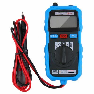 Bside Adm04 Handheld Mini Lcd Backlight Digital Multimeter With Test Lead Wf