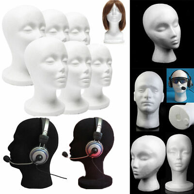 Usa Multi-use Female Foam Mannequin Head Model Hat Wig Holder Display Stand Rack
