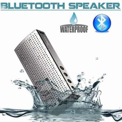 Drahtlos Tragbar Bluetooth Lautsprecher MP3 USB TF AUX Mic Speaker & WASSERDICHT Tragbare Wasserdicht Mp3