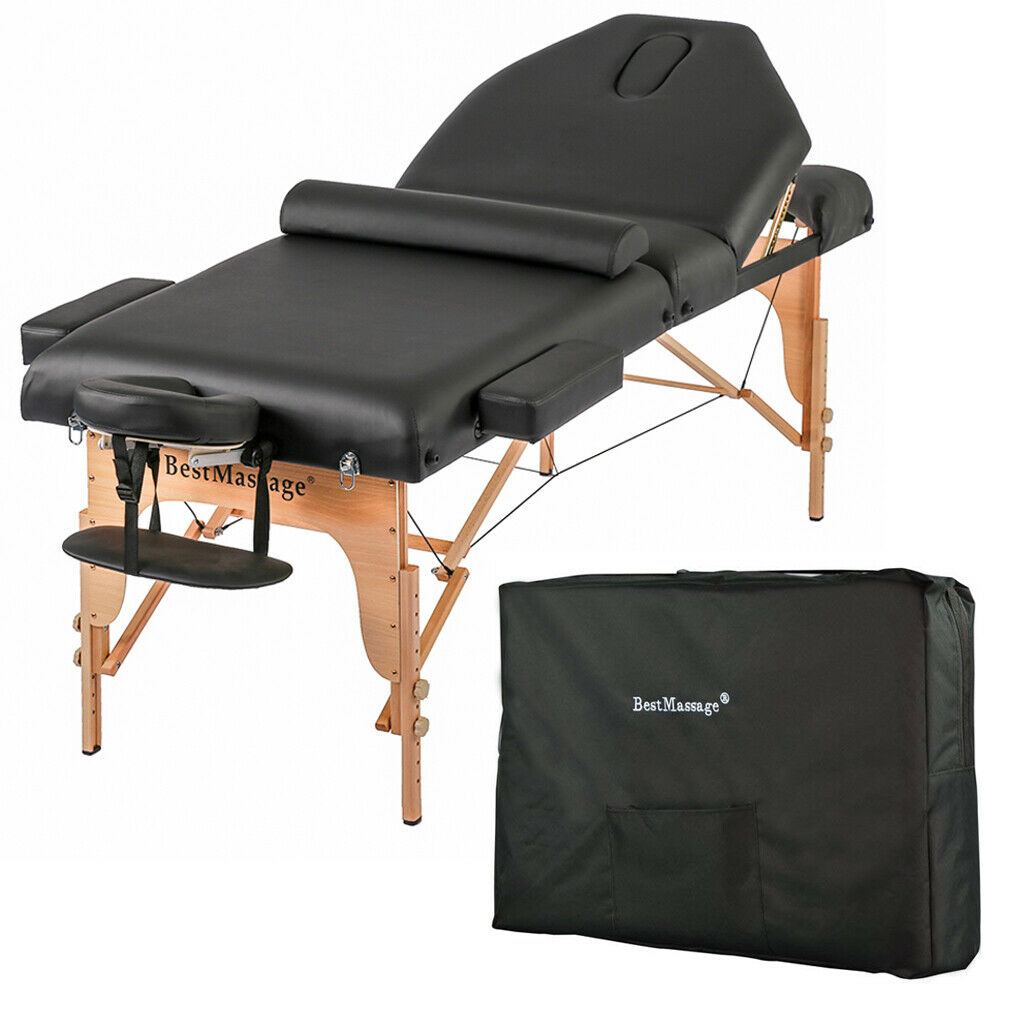 """77"""" Long 30"""" Wide 3"""" PadMassage Table with Free Carry Case a"""