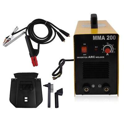 Mma 200a Arc Welding Machine 110v220v Portable Mini Stick Dc Inverter Welder