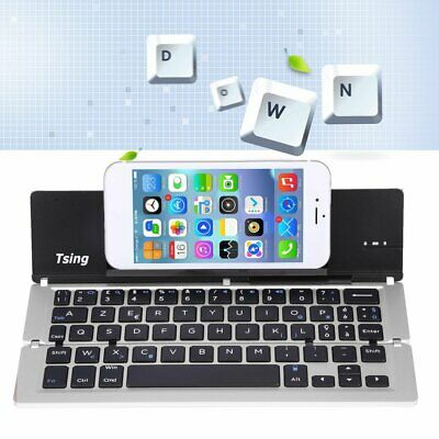 Wireless Foldable Bluetooth Keyboard For Ipad iPhone Android Tablet Portable DP
