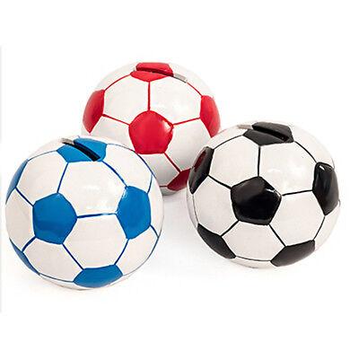 Spardose Sparbüchse Fußballform verschiedene Farben Sparschwein Fußball-Vereine
