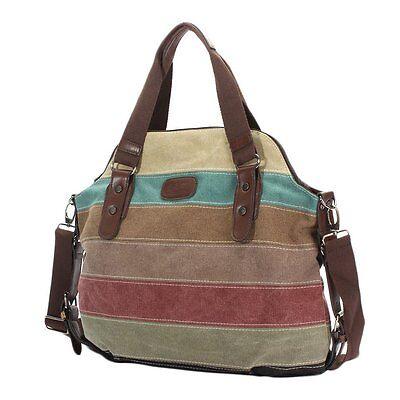 Fashion Shoulder Bag Satchel Crossbody Tote Women Handbag Purse Messenger Canvas