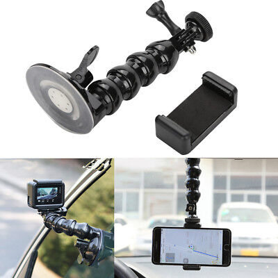 Car Mount Suction Cup Bracket Action Camera Accessorie for gopro Hero 6 5 Camera