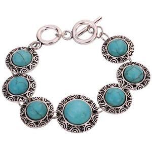 Silver Turquoise Bracelets