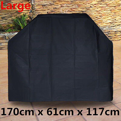 HEAVY DUTY EXTRA LARGE BBQ COVER OUTDOOR WATERPROOF BARBECUE GRILL GAS PROTECTOR