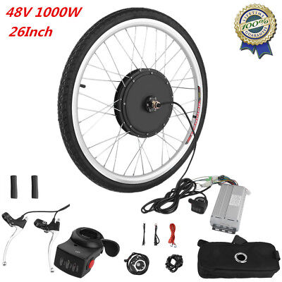 48V Front Wheel DIY Electric Bicycle Motor Conversion Kit 1000W Ebike Cycling VP
