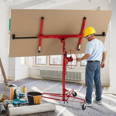 11FT Drywall Panel Hoist Dry Wall Rolling Caster Lifter Construction Tool DW11 Business & Industrial