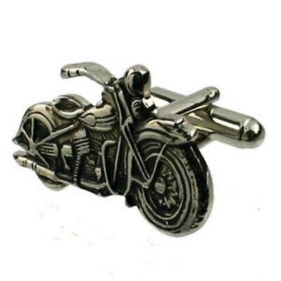 Harley Davidson Motorrad Manschettenknöpfe Optional Gravur Personalisiert Kiste
