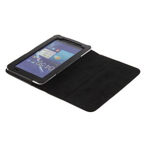 Leather Cover Case Protector Pouch for Samsung Galaxy Tab P1000 7 inch Tablet KK