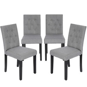 grey and white dining chairs grey hardwood floor kitchen dining chairs armless room chair accent solid wood modern style set of gray ebay