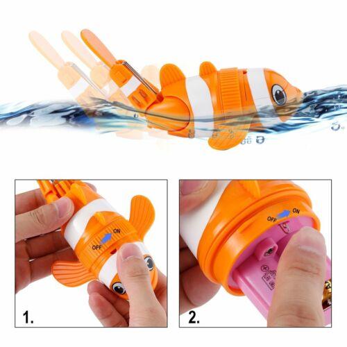 UK Children Kids Baby Swimming Bath Toys Cute fish Watering Pot Shower pg