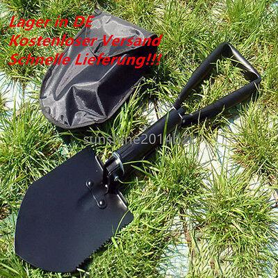 Mini Klappspaten Spaten Schaufel Hacke Säge Axt Camping Outdoor-Spaten Hülle DE