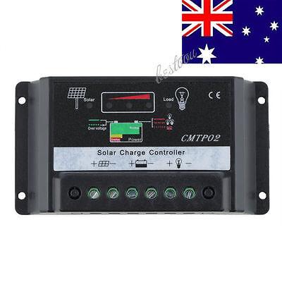 20A/30A 12V/24V PWM Solar Panel Battery Regulator Charge