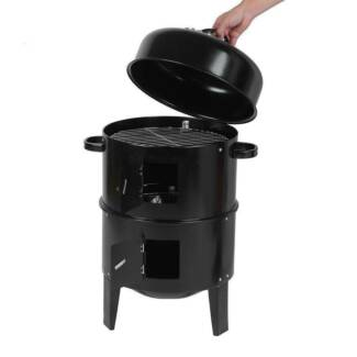 SALE!  Portable Charcoal Smoker and BBQ for Outdoors - DELIVERED Para Hills Salisbury Area Preview