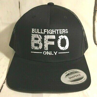 Hooey Hat Bullfighters Only BFO  Snapback ball cap - Bullfighter Hat
