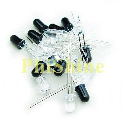 20pcs 5mm 940nm Infrared Diode Ir Leds 10 Infrared Emitter 10 Receiver