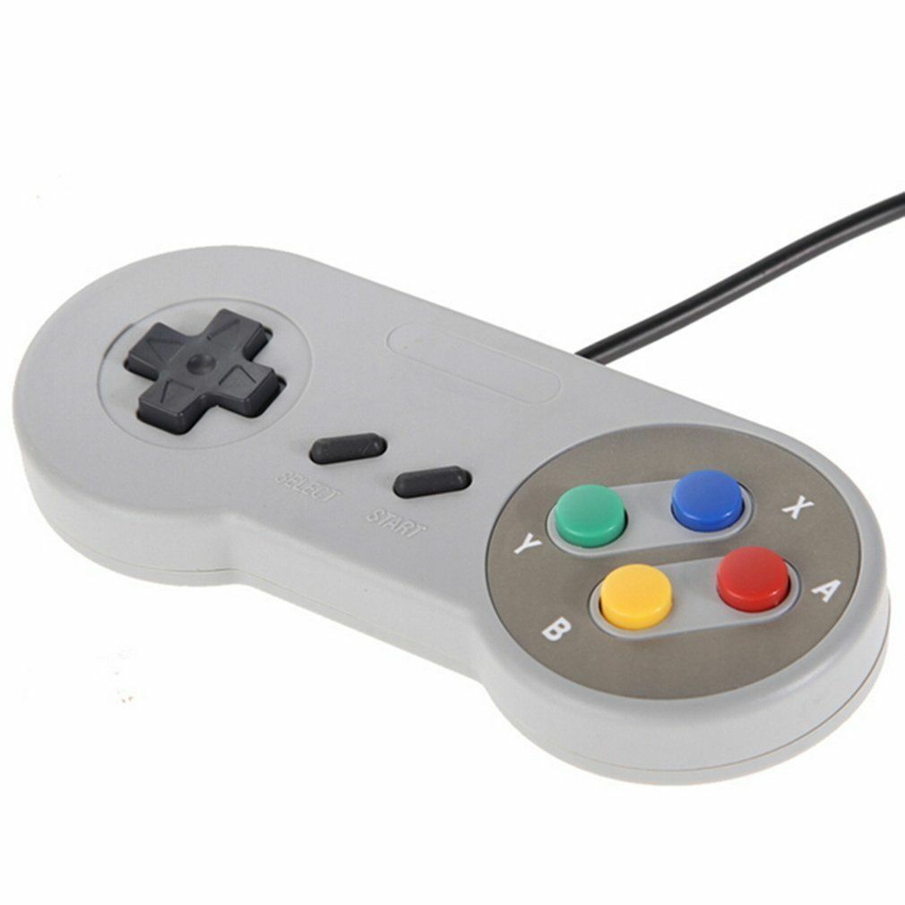 Купить Does not apply - 2 x SNES USB Controller For PC/Mac Super Nintendo Games Retro Classic Gamepad US