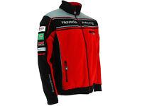 Honda Racing Fleece Size M British Super Bikes BSB - NEW