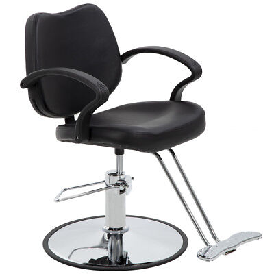 BestSalon® Black Classic Hydraulic Barber Chair Styling Salon Beauty 3W