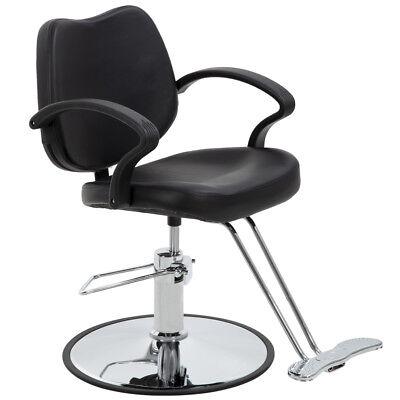 BestSalon® Black Classic Hydraulic Barber Chair Styling Salon Beauty 3W Antiques