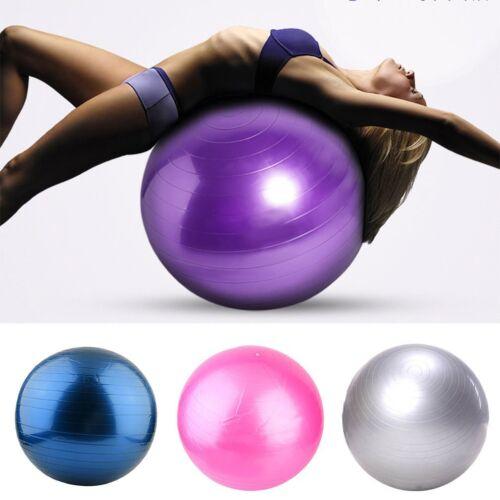 gymnastikball fitnessball sitzball yogaball b rostuhl sportball ball in pumpe ebay. Black Bedroom Furniture Sets. Home Design Ideas