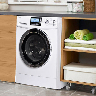 New Midea 2.0 Cu. Ft. Combination Washer/Dryer Combo Ventless