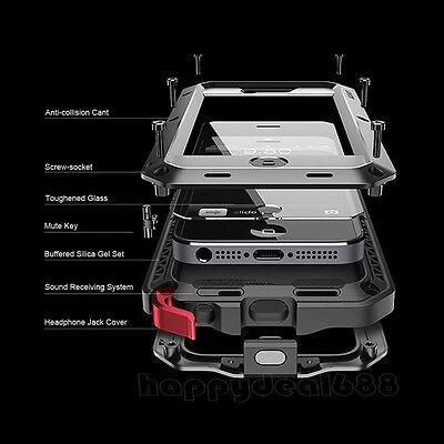 """Waterproof Shockproof Aluminum Gorilla Metal Cover Cases For  iPhone 6S  4.7"""""""
