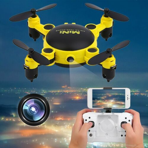 Drone With Camera -  Fpv Rc Quadcopter Hd Drones 4CH 6-Axis Foldable Mini B