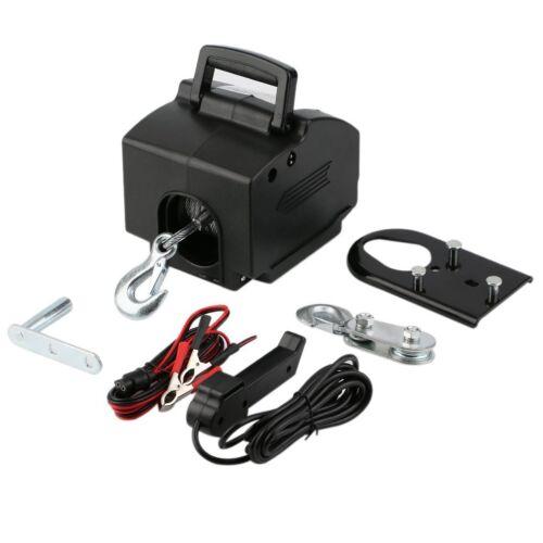 12V Elektrische Seilwinde 4990 KG mit Funk Motorwinde Bootswinde ...