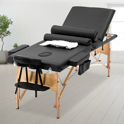 BestMassage Comfort Pad Portable Massage Table Facial Spa Bed w/ Carry Case Health & Beauty