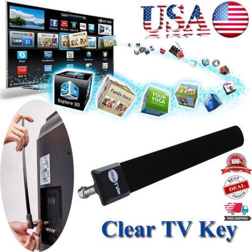 USA Clear TV Key HDTV FREE TV Digital Indoor Antenna Ditch C