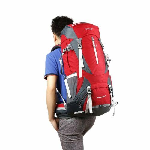 65L Outdoor Hiking Camping Waterproof Travel Luggage Rucksac