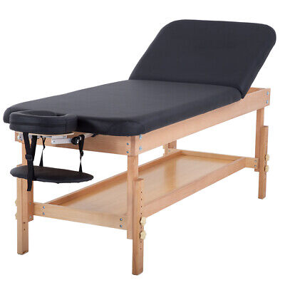 Stationary Massage Table Massage Bed Spa Bed 74