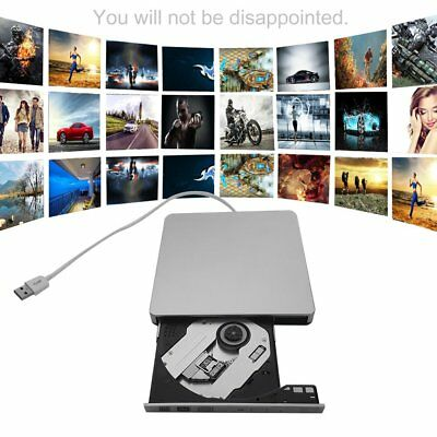 2018 externes dvd Laufwerk USB 3.0 blue ray Brenner cd dvd±rw brenner für PC Neu