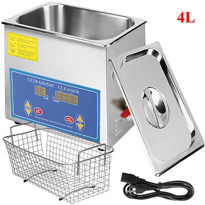 Commercial Ultrasonic Cleaner 4l Heated Ultrasonic Cleaner Cleaner Solution Ag