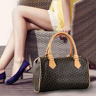 Women real Leather bag messenger crossbody Handbag Tote Shoulder Cylinder Bag VB