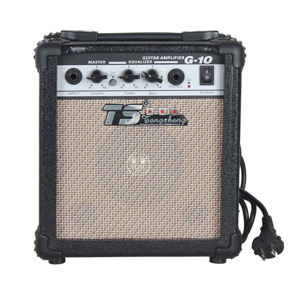 New Small 10 Watt Electric Guitar Practice Amplifier Power Amp Hl Ebay