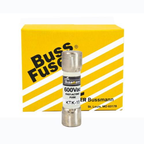 Bussmann KTK-15 15Amp Limitron Fast Acting Supplementary Fuse 600V