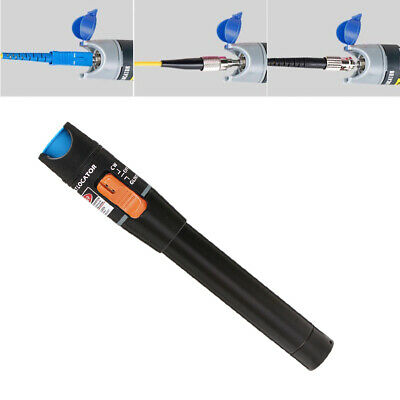 10mw Visual Fault Locator Finder Fiber Optic Cable Tester Test Equipment Sf Fc