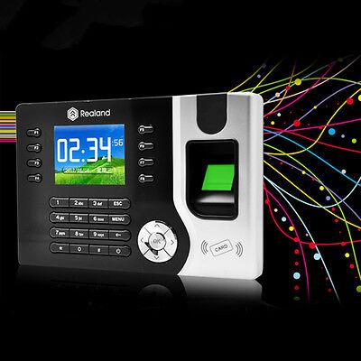 New Biometric Fingerprint Attendance Time Clock Id Card Readertcp Ipusb Bt