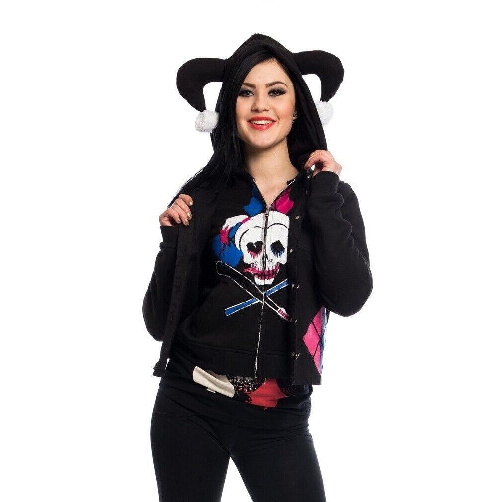 Suicide Squad Kapuzenjacke + Weste Kombi – Harley Quinn Rebel Twin